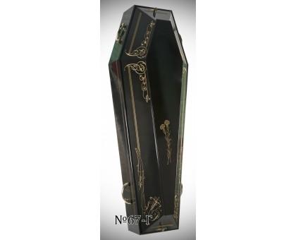 Дизайнерский гроб 6-и гранный от 1.7м до 2.1м.
